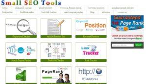 Small S.E.O Tools